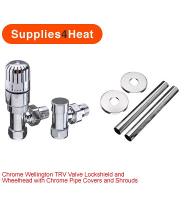 Supplies4Heat Wellington TRV Kits