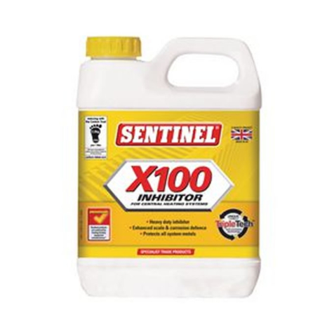Sentinel X100 Inhibitor Central Heating Protector