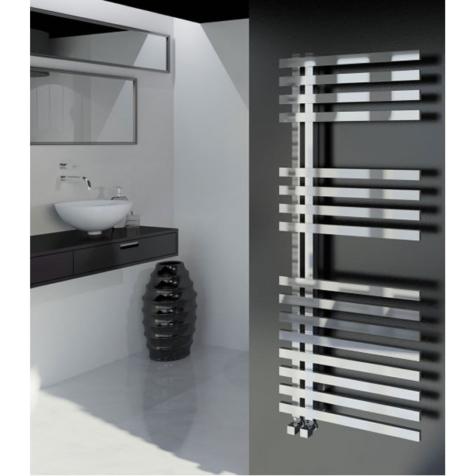 Sidato Aletta Polished Stainless Steel Towel Rail