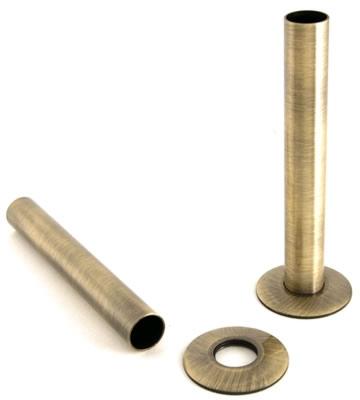Radiator Pipe Sleeve Kit - Antique Brass