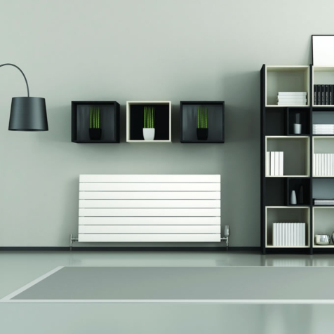 Quinn Slieve Horizontal Single 578mm High Radiators In Colours