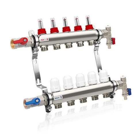 Solfex 5 Circuit Manifold