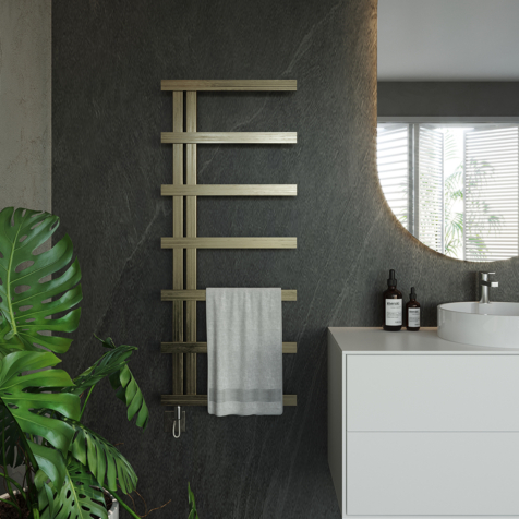 Aeon Stile Fully Electric Stainless Steel Towel Rails