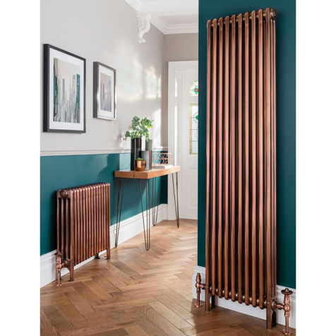 The Radiator Company Ancona Galvanised 3 Column Radiators