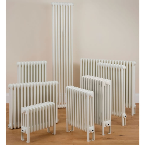 Column Radiators 3 Column 600mm High White Radiators