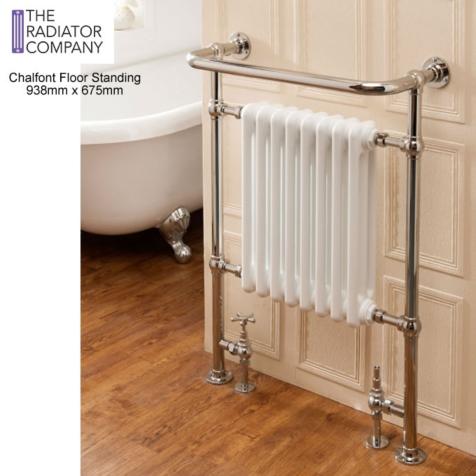 The Radiator Company Chalfont Floor Standing Towel Radiator