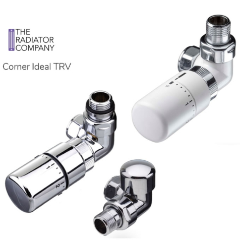 TRC Corner Ideal TRV with Lock Shield in Various Finishes