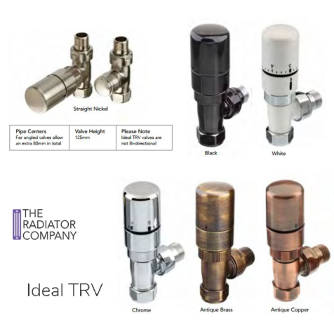 TRC Ideal TRV Set in Nickel