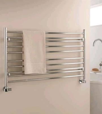 The Radiator Company Iris Horizontal Stainless Steel Towel Rails