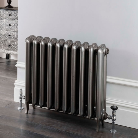 The Radiator Company Linton Polished Cast Iron Column Radiators
