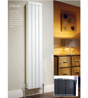 The Radiator Company Oscar 1846mm High Radiators in RAL Colour Finish