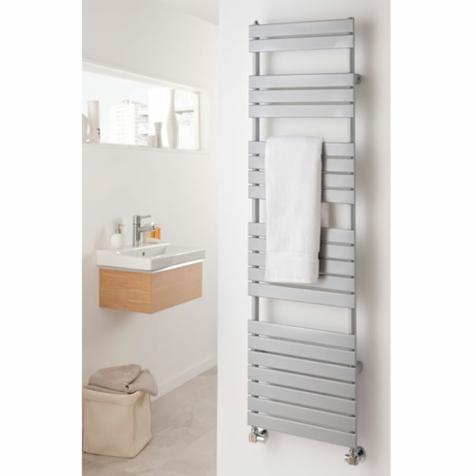 The Radiator Company Piano White Towel Rails