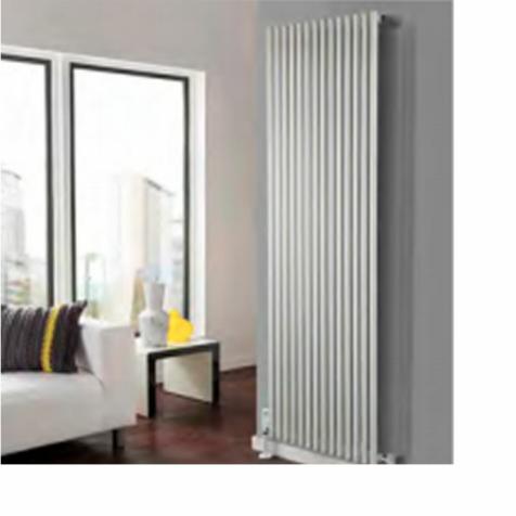 The Radiator Company Sitar Vertical Radiators - White