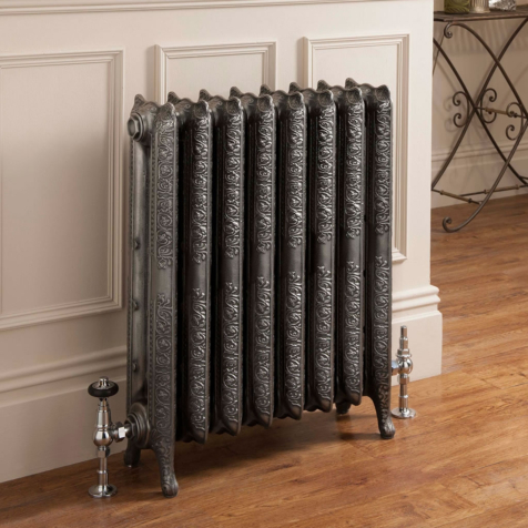 The Radiator Company Trieste 2 Column 661mm High Cast Iron Radiators in Primer Finish