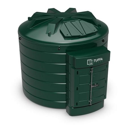 Tuffa Tanks 10000VB 10000Litre Plastic Bunded Oil Tank