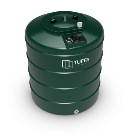 Tuffa Tanks 1400V 1400Litre Single Skin Oil Tank