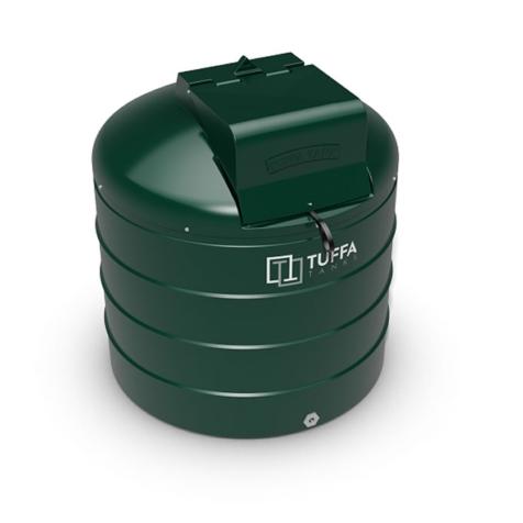 Tuffa Tanks 1400VB 1400Litre Plastic Bunded Oil Tank