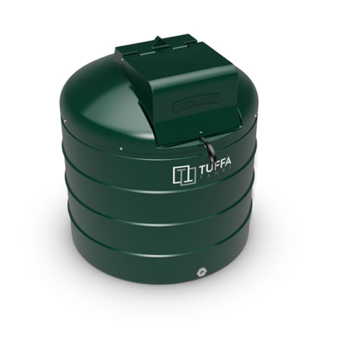 Tuffa Tanks 1400VBFP 1200Litre Plastic Fire Protected Heating Oil Tank