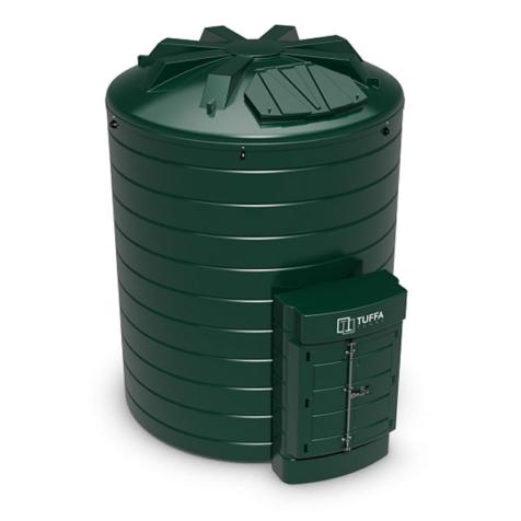 Tuffa Tanks 15000VB 15000Litre Plastic Bunded Oil Tank