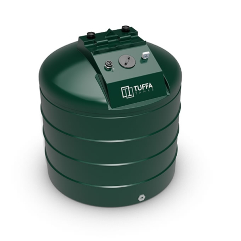 Tuffa Tanks 2500V 2500Litre Single Skin Oil Tank