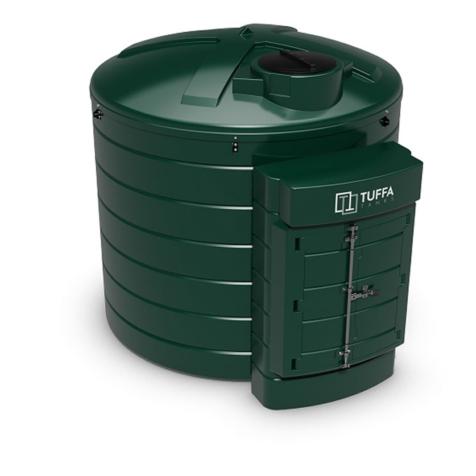 Tuffa Tanks 6000VB 6000Litre Plastic Bunded Oil Tank