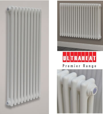 Ultraheat 2 Column 1800mm High Radiators