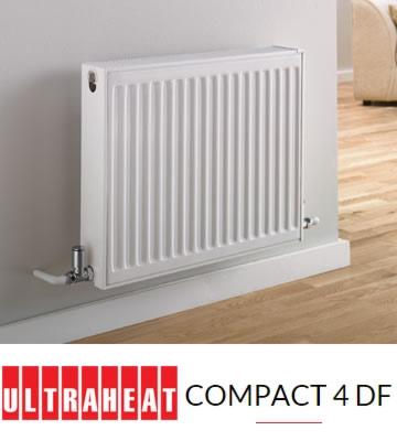 Ultraheat Compact 4 DF Double Panel Double Conv 400mm High Radiators