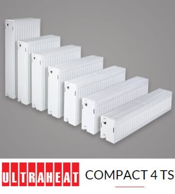 Ultraheat Compact 6 TS Triple Panel 500mm High Radiators