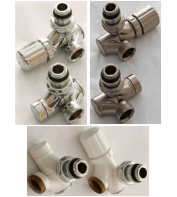 Ultraheat Aeon Decor Swivel Valve Sets