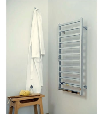 Aeon Karnak Matt Stainless Steel Towel Rails