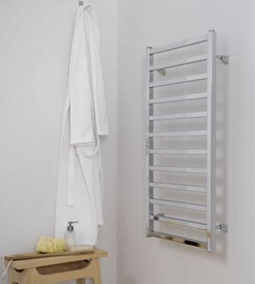 Ultraheat Karnak White Towel Rails