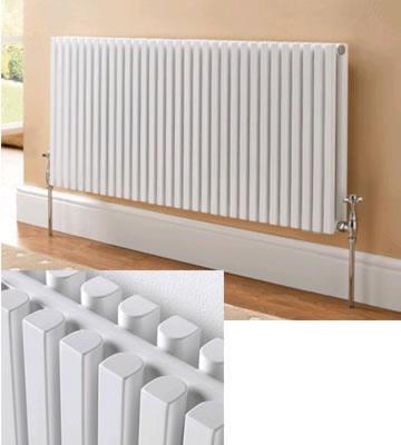 Ultraheat Klon Horizontal White 420mm High Radiators