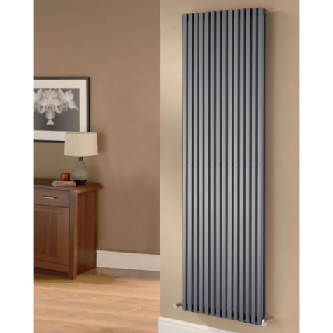 Ultraheat Klon Vertical Grey 1800mm High Radiators