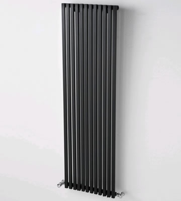 Ultraheat Klon Vertical Black 1500mm High Radiators