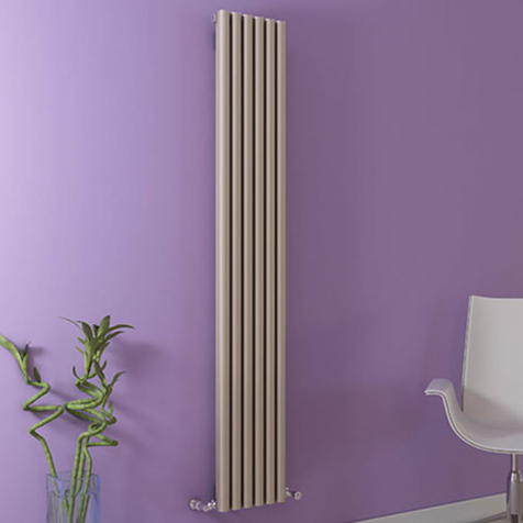 Ultraheat Kural White Vertical Aluminium Radiators
