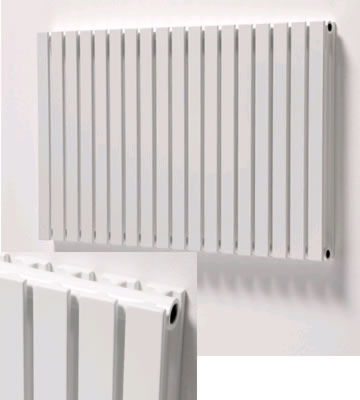 Ultraheat Linear Horizontal White Radiators