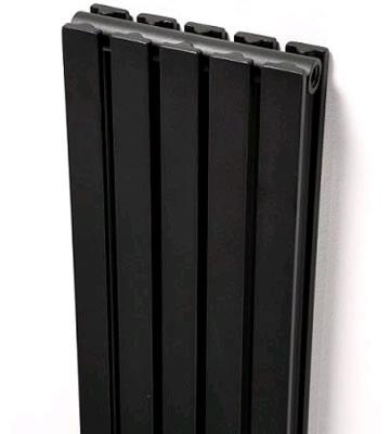 Ultraheat Linear Vertical Grey Double Radiators