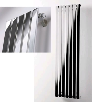 Ultraheat Linear Vertical Chrome Radiators