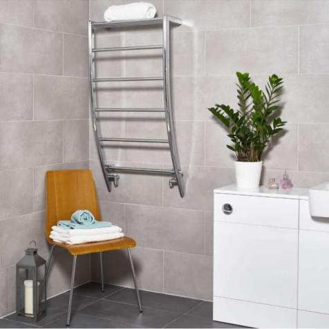 Ultraheat Portofino Chrome Towel Rails