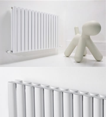 Ultraheat Sofi Horizontal White 600mm High Radiators
