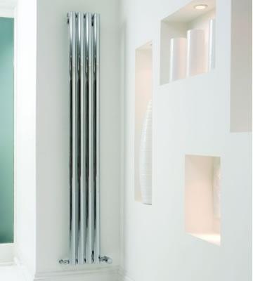 Ultraheat Sofi Vertical Chrome 2000mm High Radiators