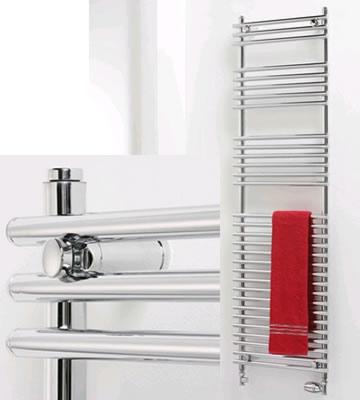 Ultraheat Windsor Chrome Towel Rails