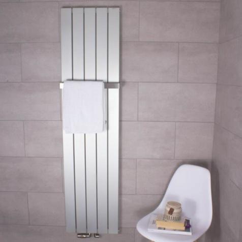 Ultraheat Bombe White Vertical Aluminium Radiators