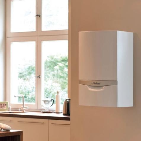 Vaillant EcoTec Plus System Boiler with Horizontal Flue Kit