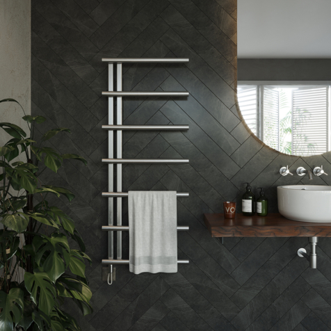 Aeon Vera Fully Electric Stainless Steel Towel Rails