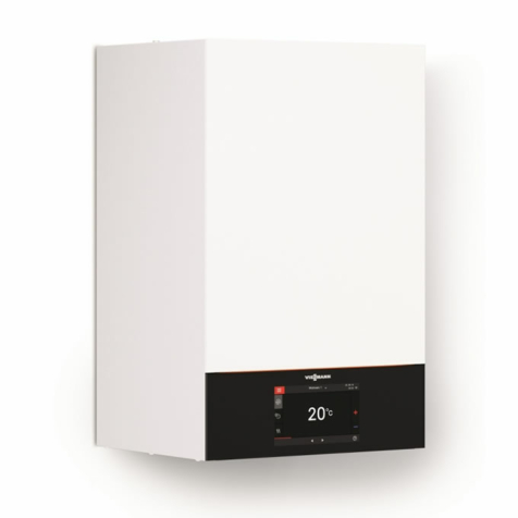 Viessmann Vitodens 200-W B2HE Condensing System Boilers