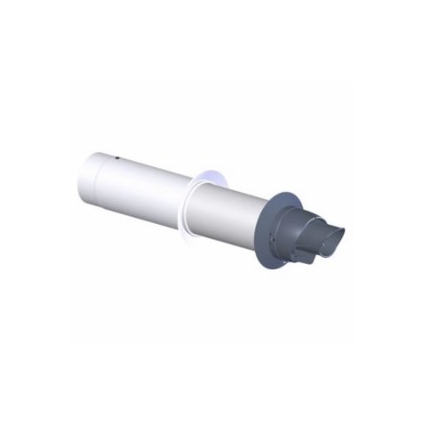 Viessmann Vitodens Telescopic Flue Kit 60/100