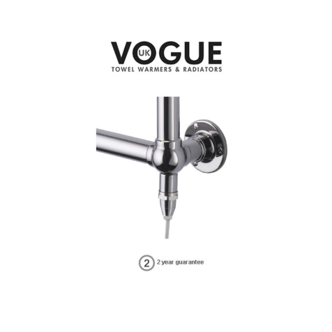 Vogue Standard Element IP55 with T Piece for Dual Fuel Option