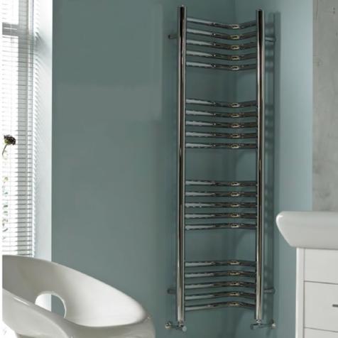 Vogue Inttra CN013-MS Corner Towel Rails
