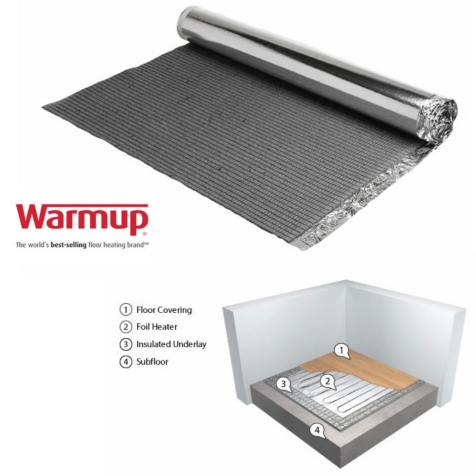 Warmup Insulated Underlay